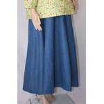 10 Gore Denim Maternity Skirt.